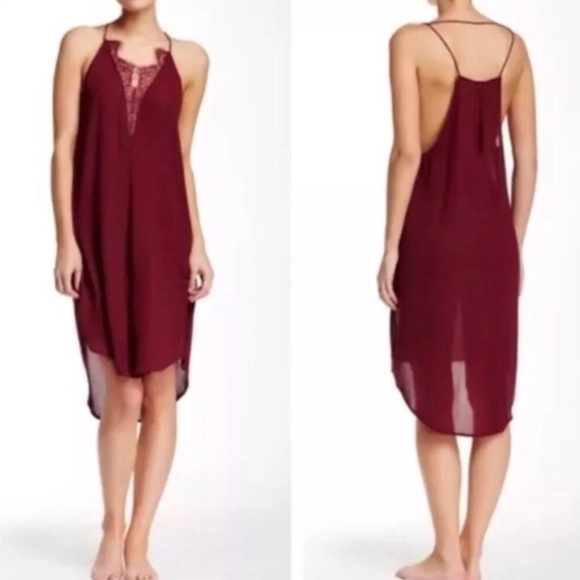Free People Dresses & Skirts - Free People Parisian Nights Slip Dress NEW